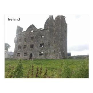 Leamenah Castle, Co Clare, Ireland Postcard