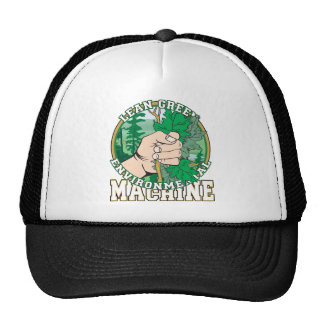 Lean, Green Environmental Machine Trucker Hat