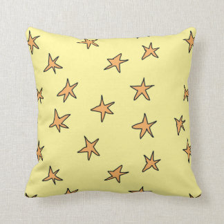 Lean into it star pillow