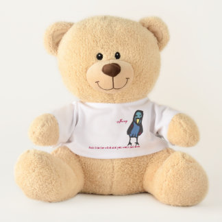 lean into the wind...birdieJenny, Teddy Bear