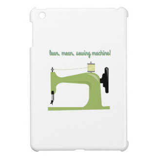 Lean, Mean Sewing Machine! iPad Mini Cover