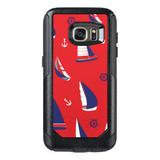 Lean Sailboat Pattern OtterBox Samsung Galaxy S7 Case