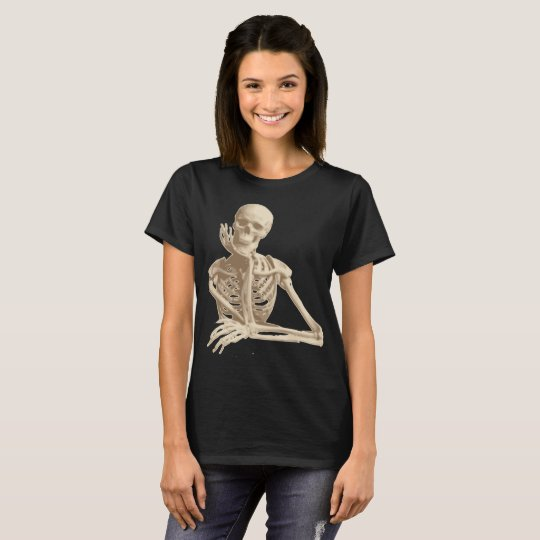 leaning skeleton T-Shirt