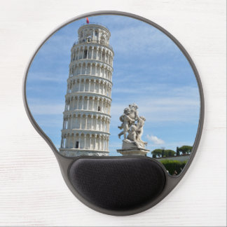 Leaning tower and La Fontana dei Putti Statue Gel Mouse Mat
