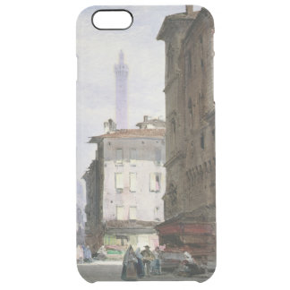 Leaning Tower, Bologna Clear iPhone 6 Plus Case