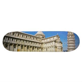 Leaning tower in Pisa Custom Skateboard