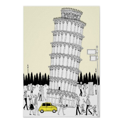 Leaning Tower of Pisa 2 Posters