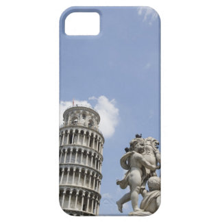 Leaning Tower of Pisa and Statue, Italy iPhone 5 Cover