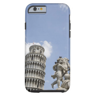 Leaning Tower of Pisa and Statue, Italy Tough iPhone 6 Case