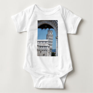 Leaning Tower of Pisa Baby Bodysuit