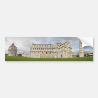 Leaning Tower of Pisa Car Bumper Sticker