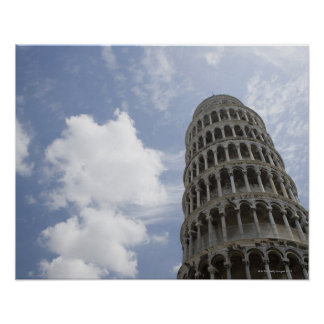 Leaning Tower of Pisa, Italy 3 Poster