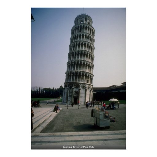 Leaning Tower of Pisa, Italy Poster