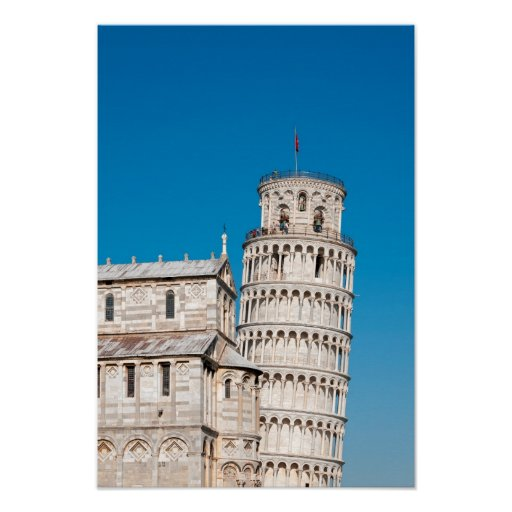 Leaning Tower of Pisa, Italy Posters