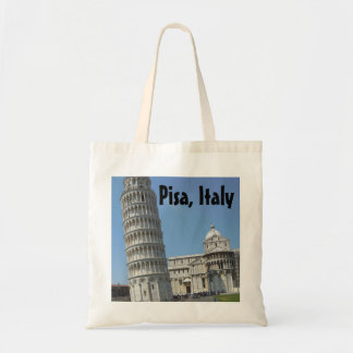 Leaning Tower of Pisa Italy Tote Bags