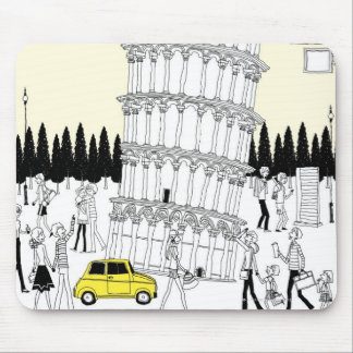 Leaning Tower of Pisa Mouse Mat
