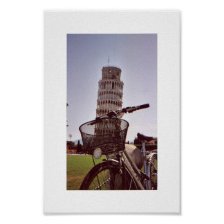 Leaning Tower of Pisa Poster