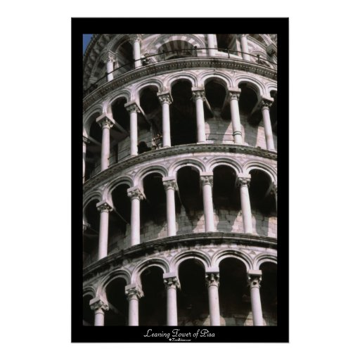 Leaning Tower of Pisa | Poster