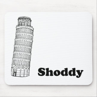 Leaning Tower of Pisa - Shoddy Mouse Pad