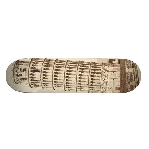 Leaning Tower of Pisa Skate Board Deck