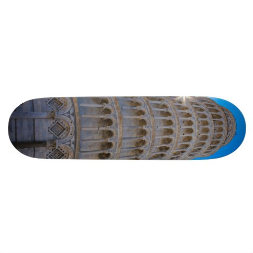 Leaning Tower of Pisa Skate Board Decks