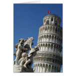 Leaning Tower of Pisa Stationery Note Card