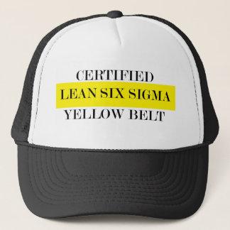 Leans Six Sigma Yellow Belt Hat