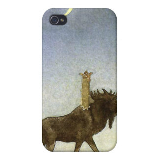 Leap the Elk and Princess Tuvstarr by John Bauer iPhone 4/4S Case