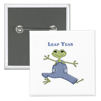 Leap Year 15 Cm Square Badge