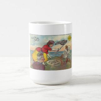 Leap Year 1908 - Be Careful, Clara! Basic White Mug