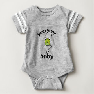 Leap Year Baby Cameo Frog Baby Bodysuit