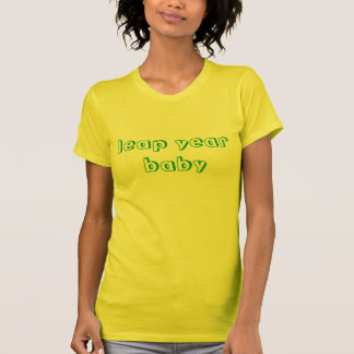 leap year baby t shirts