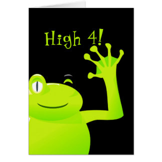 Leap Year/ Leap Day Baby Birthday Card