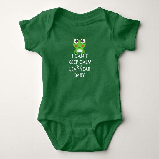 Leap Year/ Leap Day Baby Shitrt Baby Bodysuit