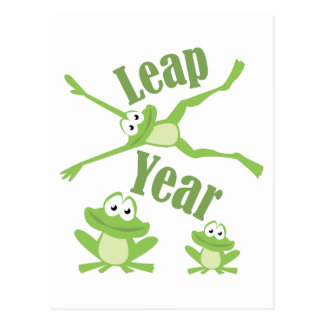 Leap Year Postcard