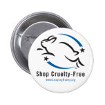 Leaping Bunny Shop Cruelty-Free Pin