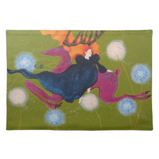 Leaping Deer. Placemat