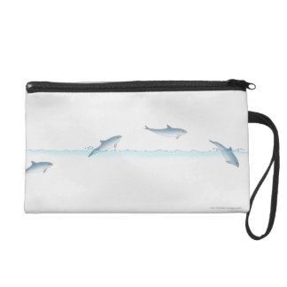 Leaping Dolphin Wristlet