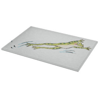 Leaping Frog 2 Cutting Board