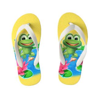 Leaping Frog colorful holiday kids Flip Flop Flip Flops