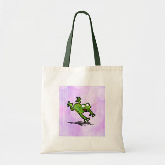 Leaping Frog Customize cute Canvas Bag