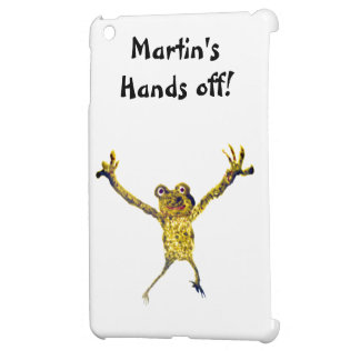 Leaping Frog Funny Animal Art Cover For The iPad Mini