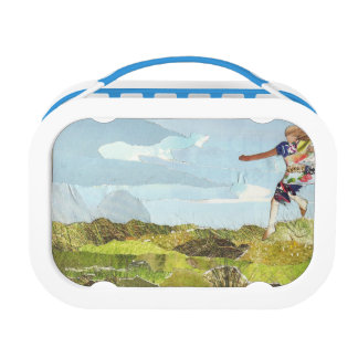 Leaping girl lunch box