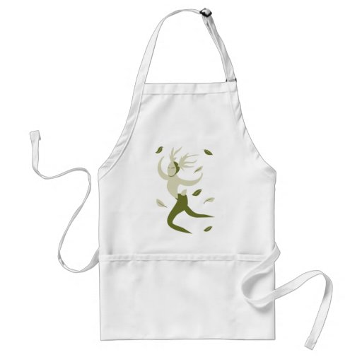 Leaping Horned God Aprons