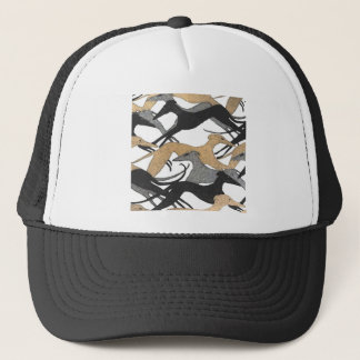 Leaping Hounds Trucker Hat