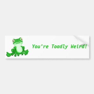 Leaping Lenny Bumper Stickers