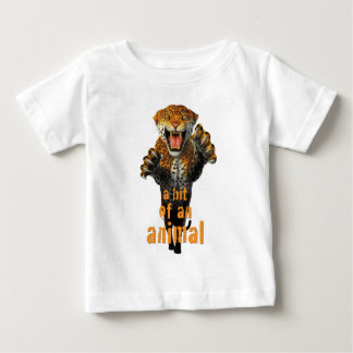 Leaping leopard - a bit of an animal baby T-Shirt