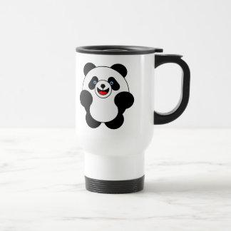 Leaping Panda Stainless Steel Travel Mug