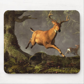 Leaping Stag Mouse Pad