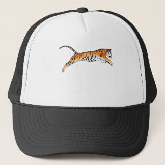 Leaping Tiger Trucker Hat